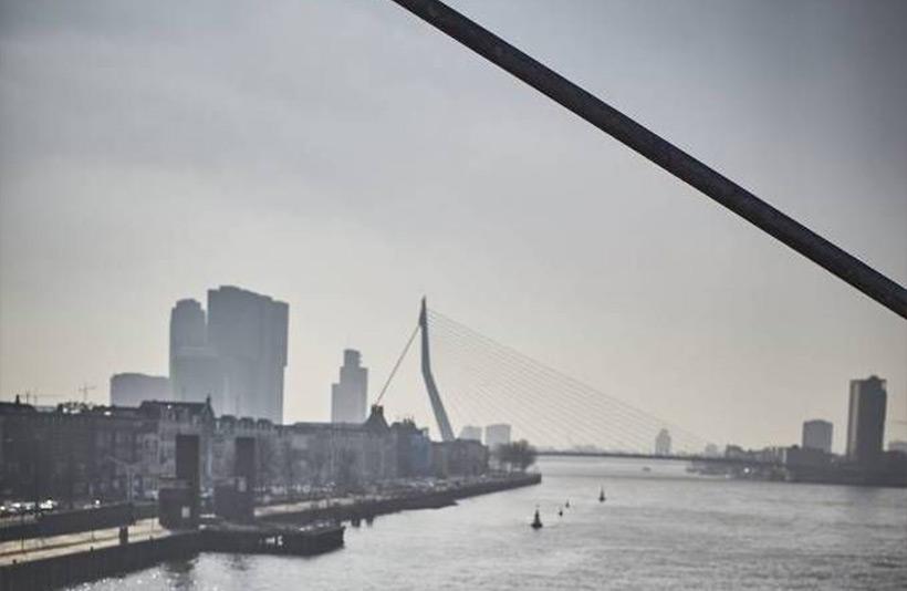 Erasmus brug oude foto