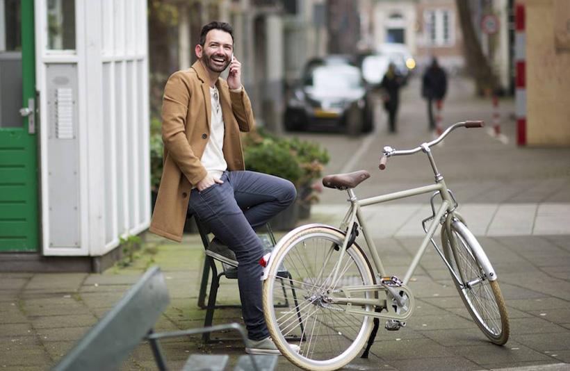 fietsroutes in leiden