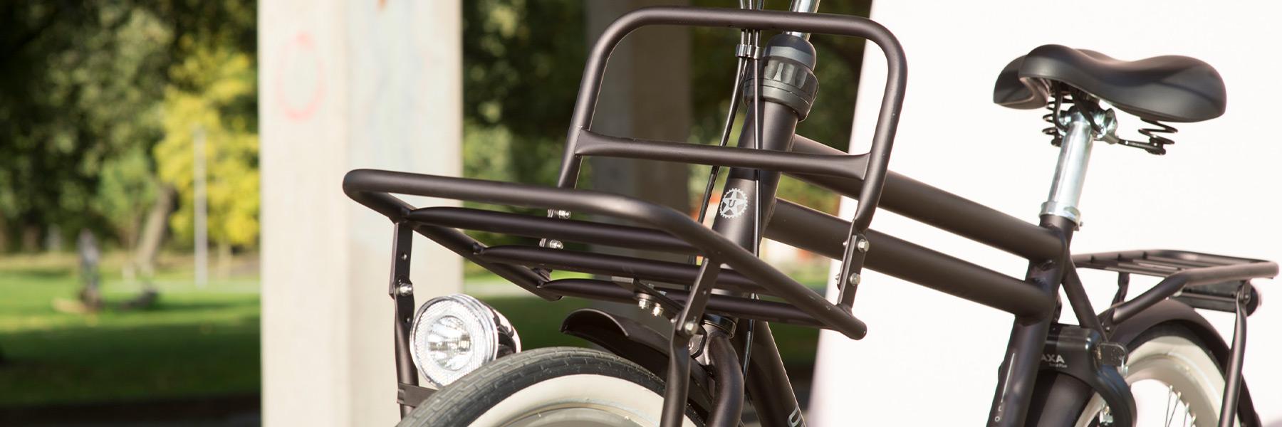 Union fiets met voorrek