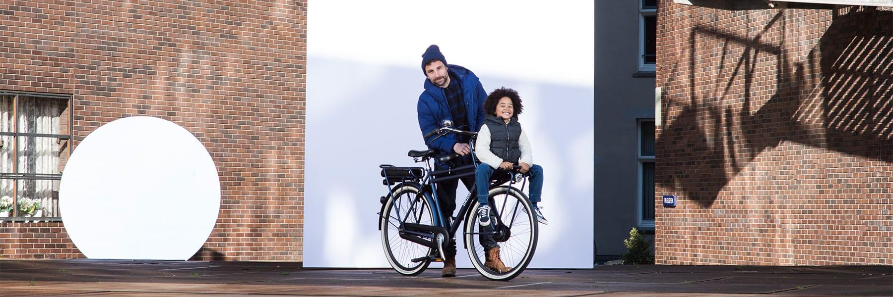 Kinderzitje op je fiets bevestigen doe je zo - Union