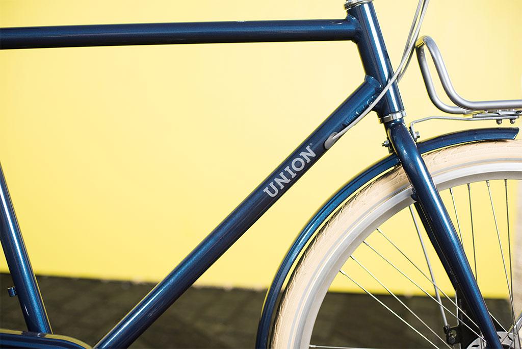 Lichte stadsfiets van Union met aluminium frame