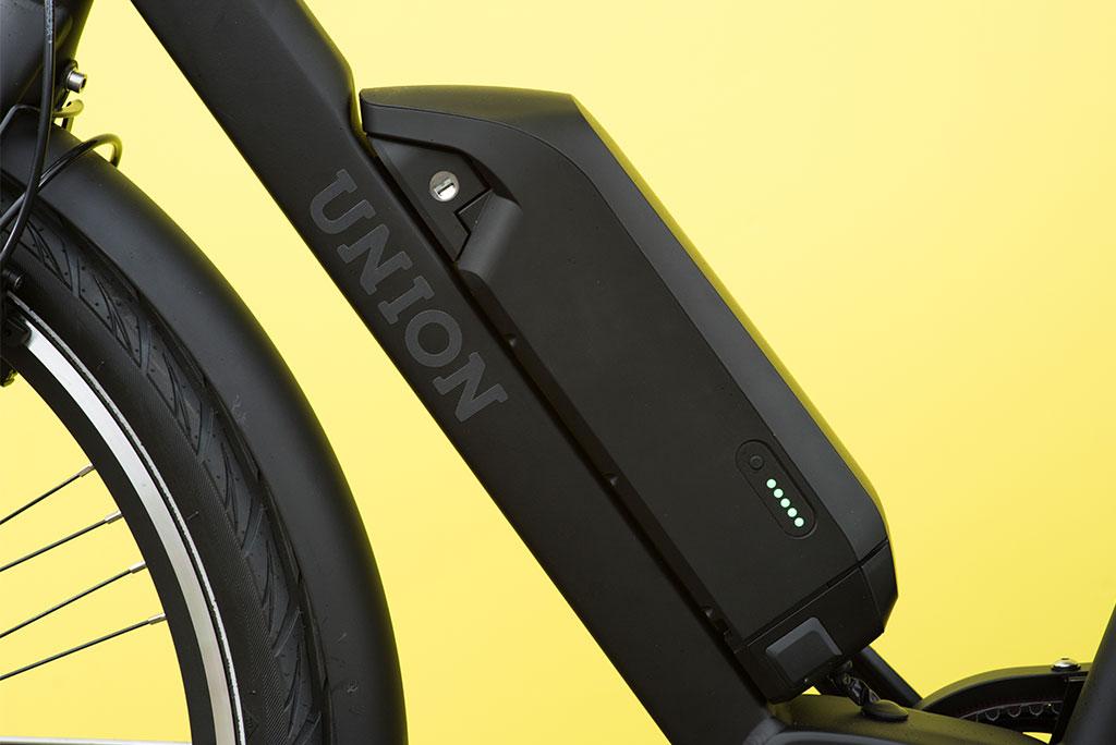 Elektrische fiets van Union met trapondersteuning tot 25 km/u